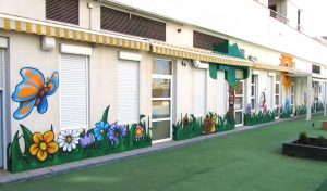 decoración de negocios ,interior ,exterior